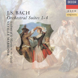 ORCHESTRAL SUITES 1-4 ACADEMY OF ST. MARTIN/SIR N. MARRINER Audio CD, J.S. BACH, CD