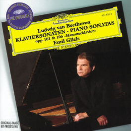 PISO'S OP.101 & 106 W/EMIL GILELS Audio CD, L. VAN BEETHOVEN, CD