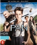 Pan, (Blu-Ray 4K Ultra HD)