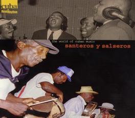 SANTEROS Y SALSERAS V/A, CD