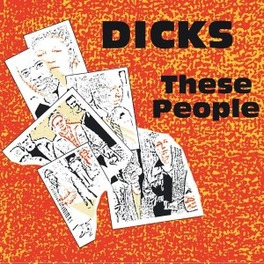 THESE PEOPLE/PEACE DICKS, CD
