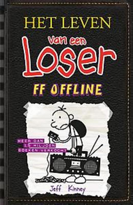 Het leven van een Loser 10: ff offline Jeff Kinney