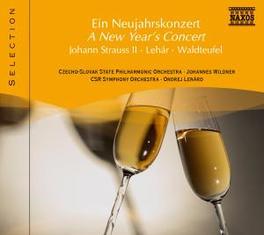 A NEW YEAR'S CONCERT WILDNER/LENARD V/A, CD