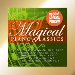 MAGICAL PIANO CLASSICS CHOPIN/LISZT/BEETHOVEN V/A, CD