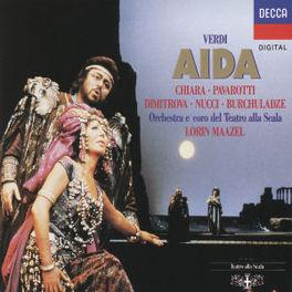 AIDA W/PAVAROTTI, CHIARA, SCALA, LORIN MAAZEL Audio CD, G. VERDI, CD