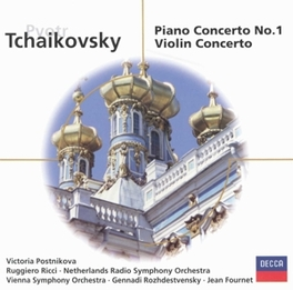 PIANO CONCERTO NO.1 VIENNA P.O. Audio CD, P.I. TCHAIKOVSKY, CD
