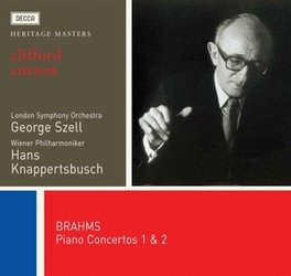 PIANO CONCERTOS Audio CD, J. BRAHMS, CD