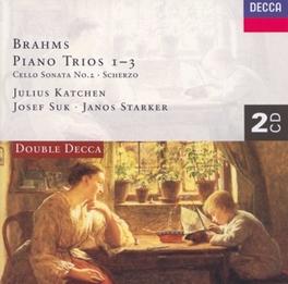 PIANO TRIO'S 1-3/CELLOSON KATCHEN/SUK/STARKER Audio CD, J. BRAHMS, CD