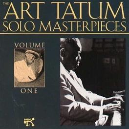 ART TATUM SOLO MASTERP.1 Audio CD, ART TATUM, CD