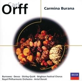 CARMINA BURANA ROYAL P.O. C. ORFF, CD