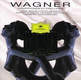 OUVERTURES & PRELUDES Audio CD, R. WAGNER, CD