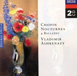 NOCTURNES/BALLADES 1-4 V.ASHKENAZY Audio CD, F. CHOPIN, CD