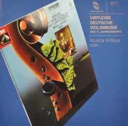 VIRTUOSO GERMAN MUSIC.. W/REINHARD GOEBEL MUSICA ANTIQUA KOLN, CD