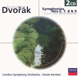 SYMPHONIES NO.5,7,8,9 LONDON S.O. Audio CD, A. DVORAK, CD