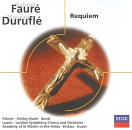 REQUIEM LONDON S.O./R.HICKOX/PALMER/SHIRLEY-QUIRK Audio CD, FAURE/DURUFLE, CD