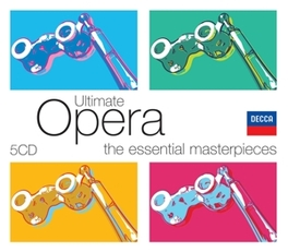 ULTIMATE OPERA WORKS BY PUCCINI/MOZART/RIGOLETTO/VERDI/LESCAUT/A.O. Audio CD, V/A, CD
