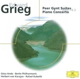 PEER GYNT SUITE 1&2 BERLIN P.O./ANDA Audio CD, E. GRIEG, CD