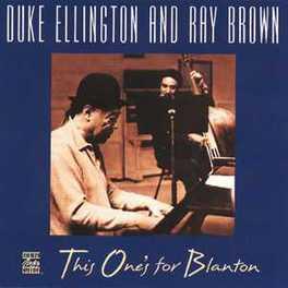 THIS ONE'S FOR BLANTON W/RAY BROWN Audio CD, ELLINGTON, DUKE & RAY BRO, CD