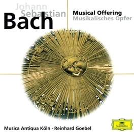 A MUSICAL OFFERING MUSICA ANTIQUA KOLN/REINHARD GOEBEL Audio CD, J.S. BACH, CD