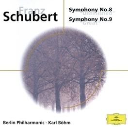 SYMPHONY NO.8 & 9 BPO F. SCHUBERT, CD