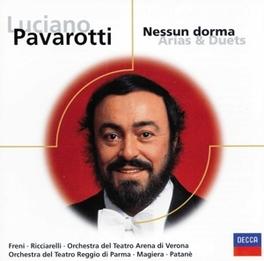 NESSUN DORMA ARIAS &DUETS W/PAVAROTTI/FRENI/A.O. V/A, CD
