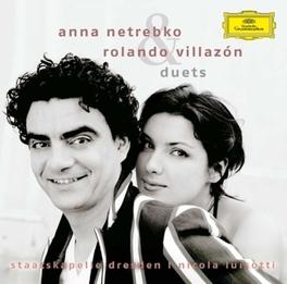 DUETS STAATSKAPELLE DRESDEN/NICOLA LUISOTTI Audio CD, ANNA/ROLANDO VI NETREBKO, CD