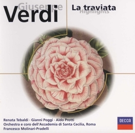 LA TRAVIATA -HIGHLIGHTS- ST.CECILIA/F.MOLINARI-PRADELLI Audio CD, G. VERDI, CD