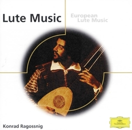 EUROPEAN LUTE MUSIC KONRAD RAGOSSBIG, CD