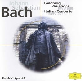 GOLDBERG VARIATIONS W/RALPH KIRKPATRICK J.S. BACH, CD