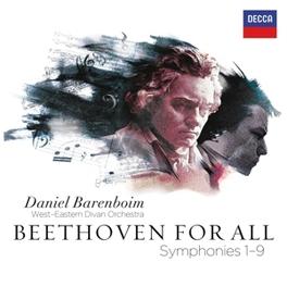 BEETHOVEN FOR.. WEST EASTERN DIVAN ORCHESTRA/DANIEL BARENBOIM L. VAN BEETHOVEN, CD