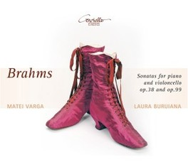 SONATAS FOR PIANO & VIOLO LAURA BURIANA/MATEI VARGA J. BRAHMS, CD