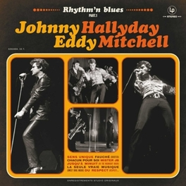 RHYTHM 'N BLUES PART 1 JOHNNY/EDDY MIT HALLYDAY, Vinyl LP