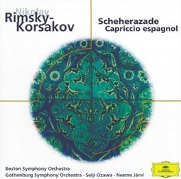 SCHEHERAZADE BSO, GOTHENBORG SO/SILVERSTEIN Audio CD, RIMSKY-KORSAKOV, N., CD