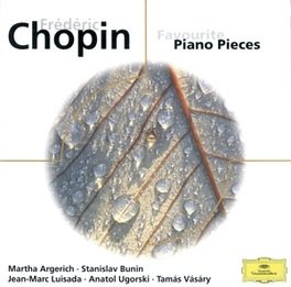 FAVOURITE PIANO PIECES W/MARTHA ARGERICH, VASARY, BERMAN... F. CHOPIN, CD