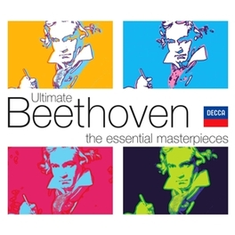 ULTIMATE BEETHOVEN JORGE BOLET/MONTREAL SYM. ORCH/CHARLES DUTOIT/C.ARRAU Audio CD, L. VAN BEETHOVEN, CD