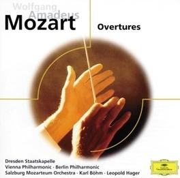 OVERTURES ST.DRESDEN W.A. MOZART, CD