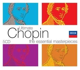 ULTIMATE CHOPIN JORGE BOLET/MONTREAL SYM. ORCH/CHARLES DUTOIT/C.ARRAU F. CHOPIN, CD