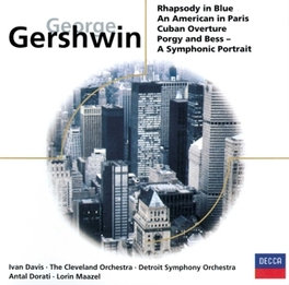 ORCHESTRAL WORKS DETROIT S.O., CLEVELAND ORCH. Audio CD, G. GERSHWIN, CD