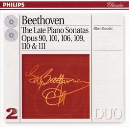 LATE PIANO SONATES ALFRED BRENDEL Audio CD, L. VAN BEETHOVEN, CD