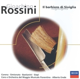 BARBIERE DI SIVIGLIA -HIG Audio CD, G. ROSSINI, CD
