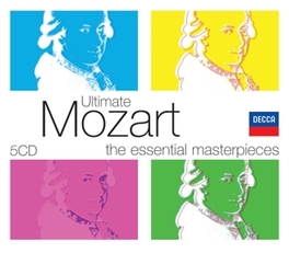 ULTIMATE MOZART GEORG SOLTI/NEVILLE MARRINER/LEIPZIG RADIO CHOIR/AO. W.A. MOZART, CD