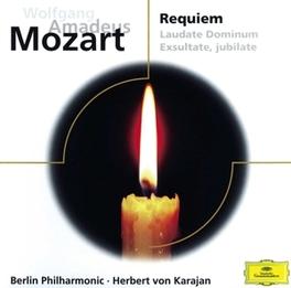 REQUIEM/VESPERS BERLIN P.O. W.A. MOZART, CD