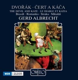 DEVIL AND KATE BREDDT/ROMANKO/STRAKA/WDR SINFONIEO//ALBRECHT, G. Audio CD, A. DVORAK, CD