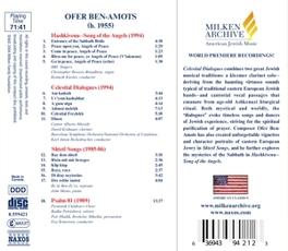 CELESTIAL DIALOGUES BEN-AMOTS, CD