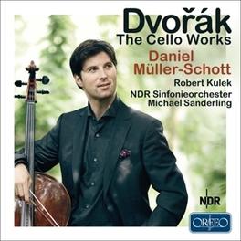 CELLO WORKS DANIEL MULLER-SCHOTT/ROBERT KULEK A. DVORAK, CD