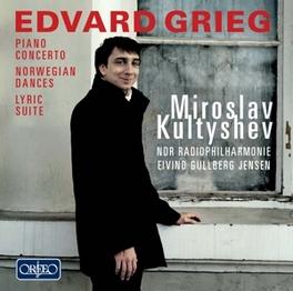 PIANO CONCERTO/NORWEGIAN MIROSLAV KULTYSHEV//EIVIND GULLBERG JENSEN E. GRIEG, CD