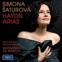 HAYDN ARIAS SATUROVA/NDR RADIO-PHILHARMONIE//DE MARCHI, A.