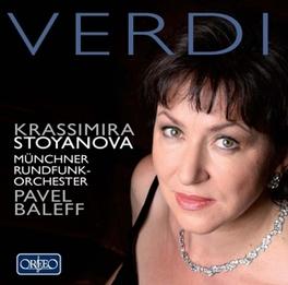 KRASSIMIRA STOYANOVA.. .. SINGS VERDI ARIAS G. VERDI, CD