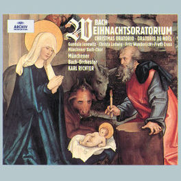 WEIHNACHTSORATORIUM MUNCHENER BACH ORCH.&CHOIR/RICHTER Audio CD, J.S. BACH, CD