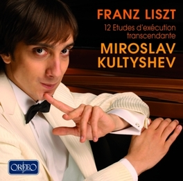 12 ETUDES D'EXECUTION MIROSLAV KULTYSHEV Audio CD, F. LISZT, CD